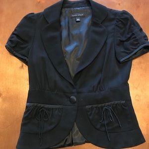 Black Short-sleeve Banana Republic Jacket